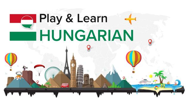 Play and Learn HUNGARIAN free poster