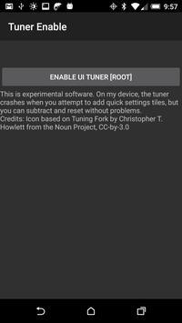 UI Tuner Enable [root] apk screenshot