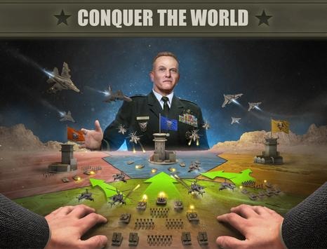 Imperial: War of Tomorrow, a mobile strategy game poster