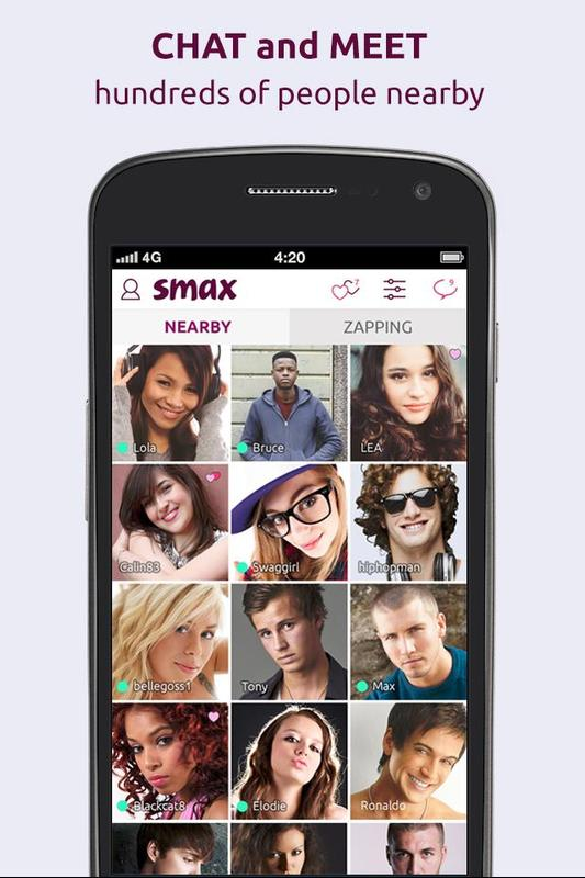 Application smax rencontre
