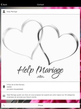 Help Mariage apk screenshot