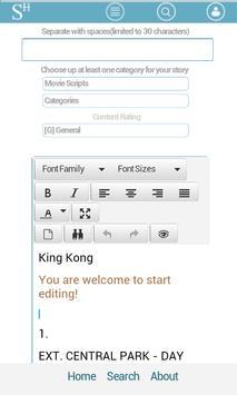 StoriesHub.mobi apk screenshot