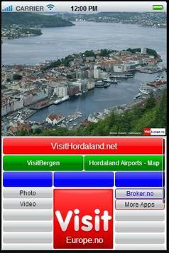 VisitHordaland VisitEurope.no screenshot 1