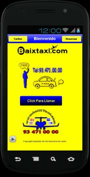 TAXI BARCELONA poster