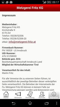 Metzgerei Fritz screenshot 4