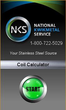 NKS Steel Coil Calculator poster