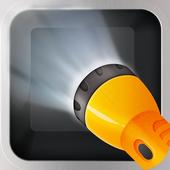 torche lumineuse icône