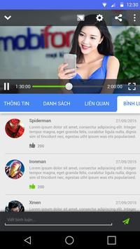 MobifoneTV apk screenshot