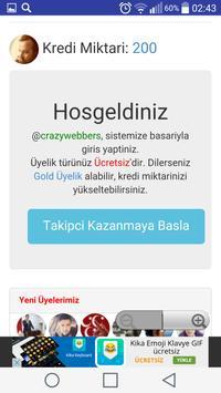 Mobil Begeni Sosyal Medya screenshot 2