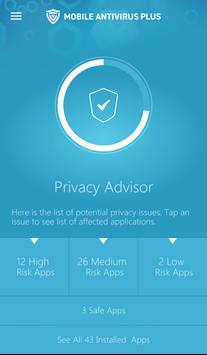 Mobile Antivirus Plus apk screenshot