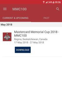 Mastercard Memorial Cup 2018 screenshot 1