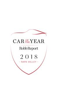 Robb Report Car Of The Year poster