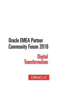 Oracle Digital Transformation poster
