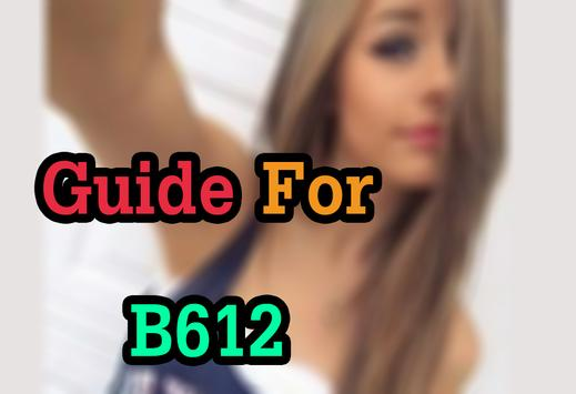 Free B612 Selfie Camera Guide poster