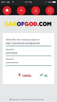 Car of god poster