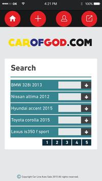 Car of god apk screenshot