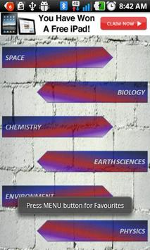 Science Bank poster