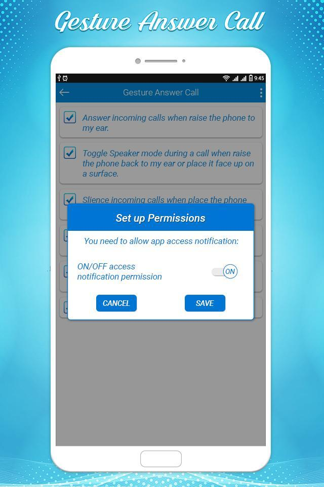 Gesture Answer Call for Android - APK Download