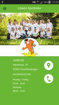 Löwen Apotheke Feuchtwangen poster