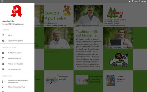 Löwen Apotheke Feuchtwangen apk screenshot