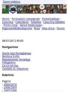 Mobile site generator screenshot 2