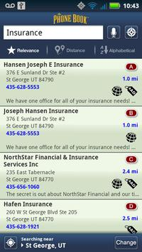 The Phone Book Yellow Pages screenshot 2