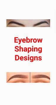Eyebrow Shaping Designs poster