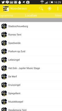 Noorderzon 2014 apk screenshot