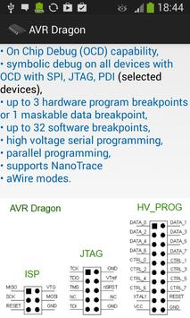 AVR Atmega Pro Database apk screenshot