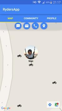 RydersApp apk screenshot