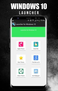 Launcher Theme for Windows 10 apk screenshot