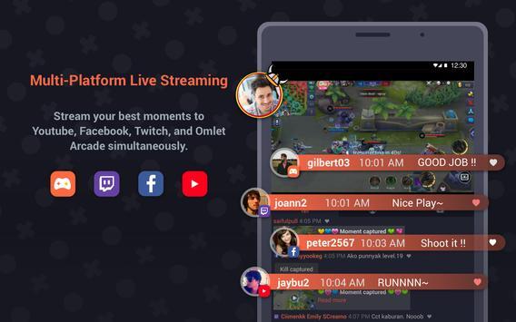 Omlet Arcade - Stream, Meet, Play apk स्क्रीनशॉट