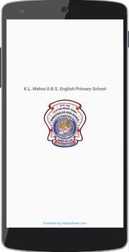 UBS English School Parent App poster
