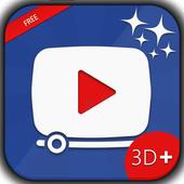 myVideos 3D+ icon