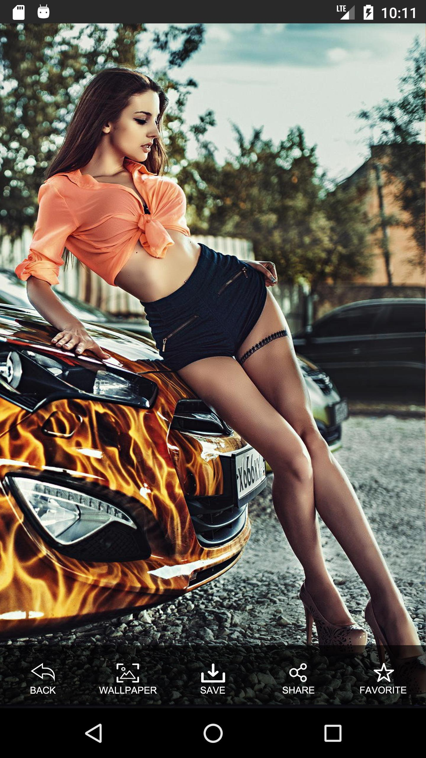 Sexy Car Girl Wallpaper Hd-4K For Android - Apk Download-3674