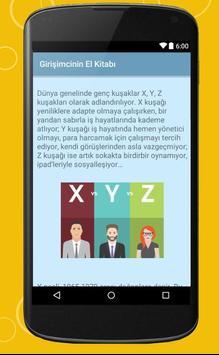 Girişimcinin El Kitabı apk screenshot