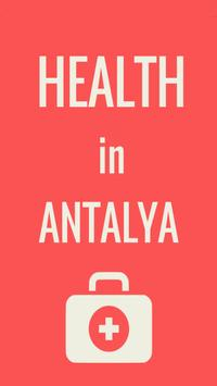 HEALTH IN ANTALYA poster