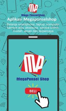 Megaponsel shop - Jual Beli online poster