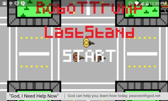 Robot Trump - Last Stand poster