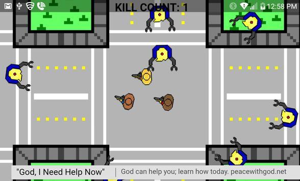 Robot Trump - Last Stand apk screenshot