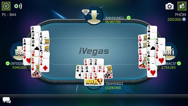 Game bài Tiến lên - iVegas apk screenshot