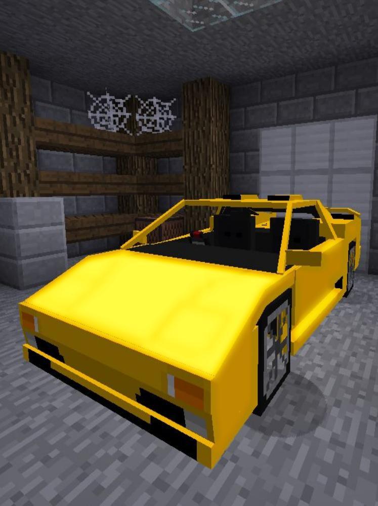 мод на майнкрафт на машины 0.14.0 #7
