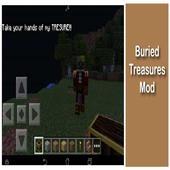 Buried Treasures Mod PE icon