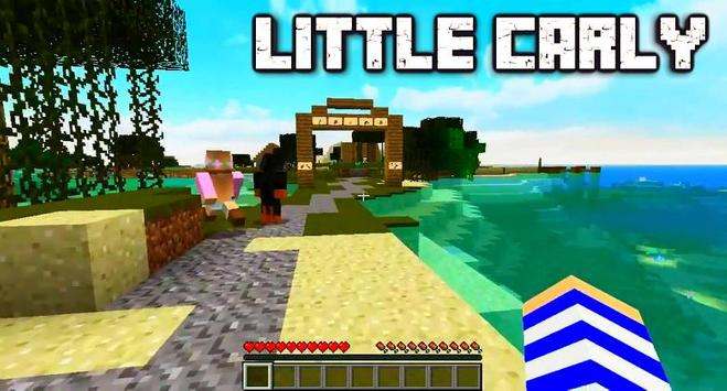 Mod Little Carly for minecraft poster
