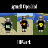 AgameR Capes Mod Installer icon