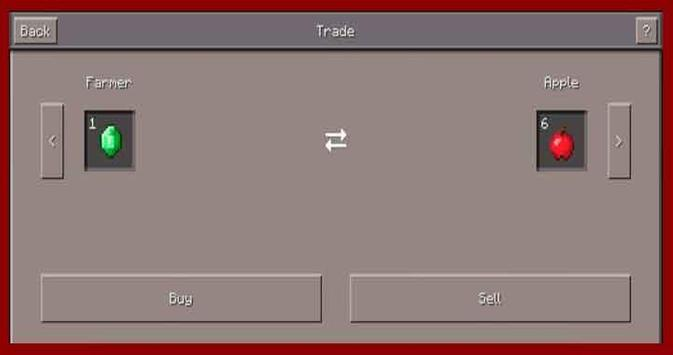 Villager Trading Mod Installer apk screenshot