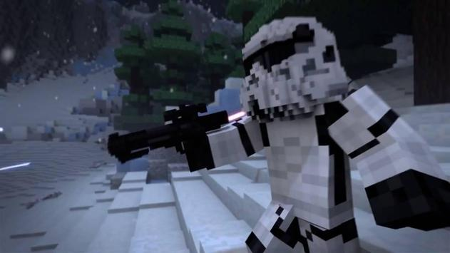 Map Star Wars for Minecraft PE poster