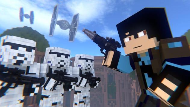 Map Star Wars for Minecraft PE apk screenshot
