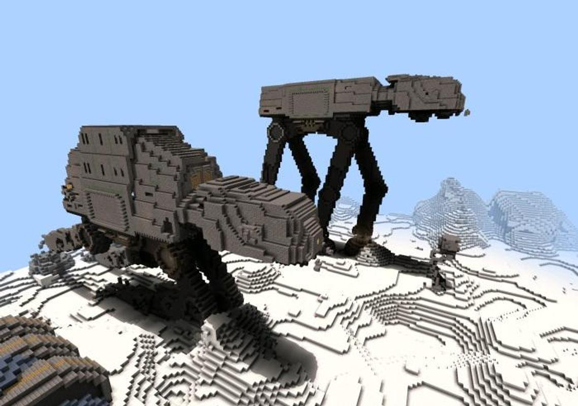 Map Star Wars For Minecraft Pe For Android Apk Download