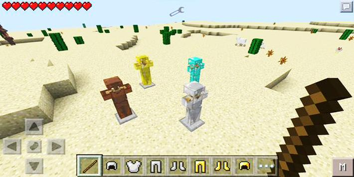 Mod Armor Stand for Minecraft PE poster